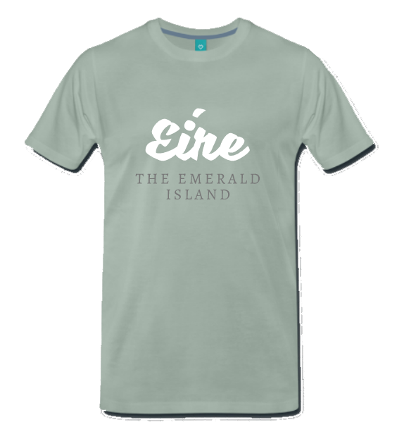 Eire - The Awesome Island in Graugrün